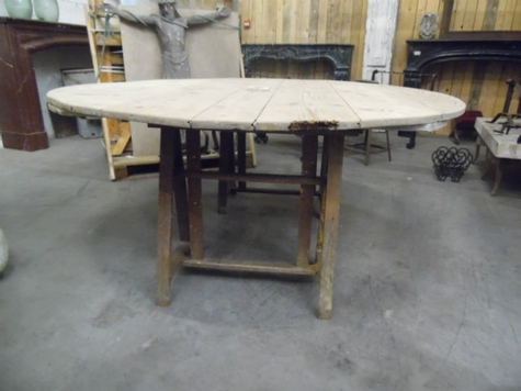 table de terasse en bois