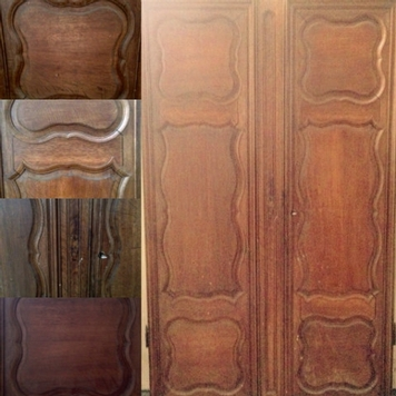 Doors in solid oak