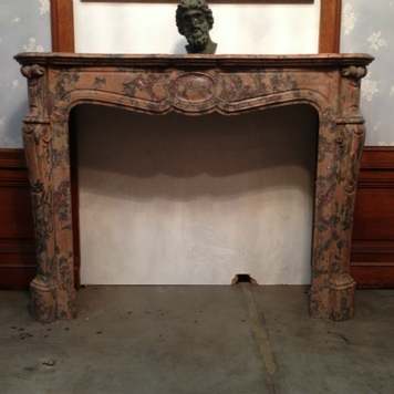 fireplace louis xv