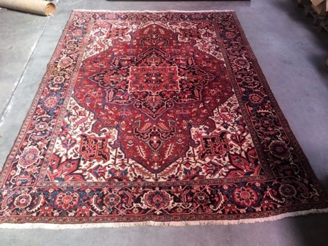 large persian wool rug HERIZ