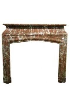 Louis 14 style marble fireplace