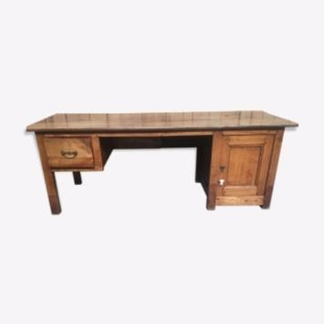 rustic and solid desk 20th century