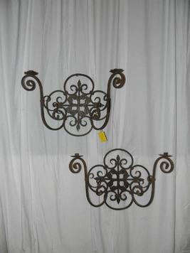 wall lamps iron